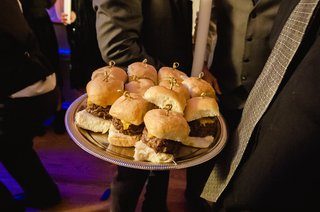 silver-platter-topped-with-fresh-buns-and-burger-meat