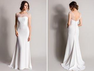 illusion-neckline-sheath-wedding-dress-with-beading