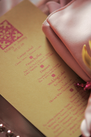 golden-menu-card-with-pink-writing