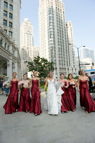 long-bridesmaid-dresses-in-red