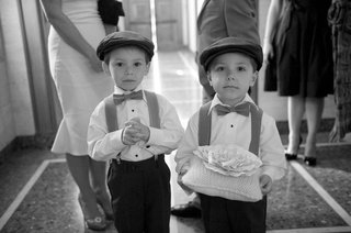 black-and-white-photo-of-young-boys-in-hats