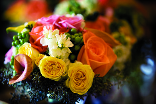 bouquet-of-yellow-orange-pink-and-white-flowers
