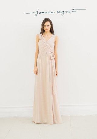 joanna-august-2016-sleeveless-bridesmaid-dress-with-v-neck-and-tie-around-waist-in-champagne-color