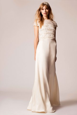 temperley-bridal-2016-ivory-wedding-dress-with-beaded-short-sleeve-top-and-wide-leg-pants