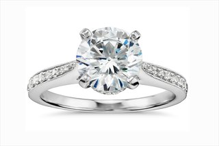 monique-lhuillier-for-blue-nile-solitaire-diamond-engagement-ring-with-diamond-band