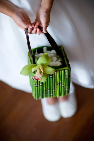 flower-girl-purse-with-green-bamboo-and-orchid