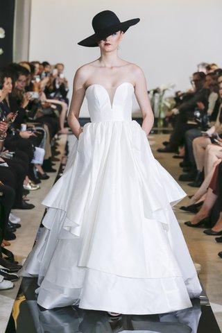 justin-alexander-spring-2018-tiered-silk-dupion-ball-gown-plunging-neckline-designer-wedding-dress