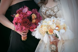 bouquet-for-bridesmaids-and-bride-in-different-colors
