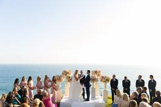malibu-wedding-with-ocean-as-backdrop-ocean-view-wedding-ceremony