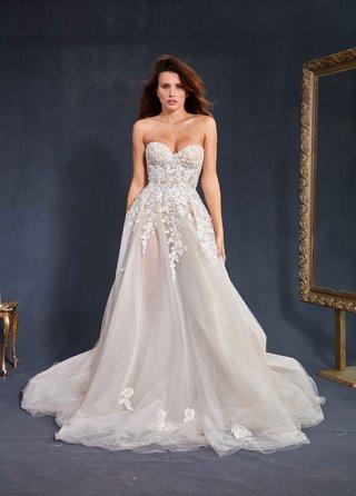 galia-lahav-couture-le-secret-royal-part-2-gia-wedding-dress-strapless-corset-bodice-sheer-skirt