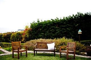 malibu-wedding-wood-lounge-chair-and-bench-area