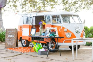 vw-van-volkswagen-van-as-photobooth-for-vintage-travel-themed-maui-wedding
