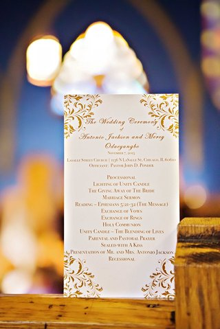 wedding-ceremony-program-with-order-of-proceedings-for-church-wedding-gold-script
