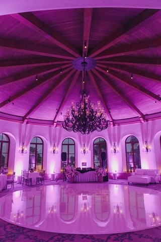 purple-lighting-in-domed-ballroom-at-bacara