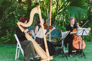 wedding-ceremony-music-string-quartet-ensemble-harpist-cellist-and-violinist