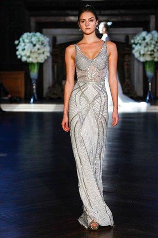 alon-livne-white-fall-2016-v-neck-beaded-column-gown-wedding-dress