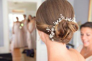christie-lauren-headpiece-in-brides-hairstyle-low-bun-brunette