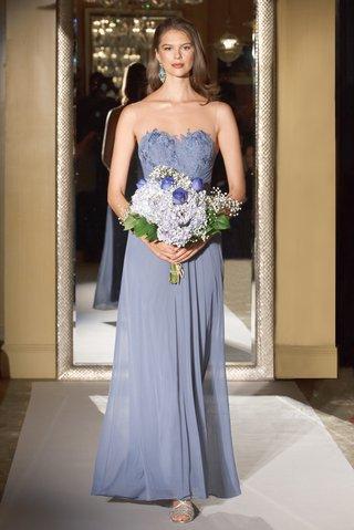 oleg-cassini-davids-bridal-bridesmaid-dress-strapless-illusion-lace-bodice-mesh-skirt-long