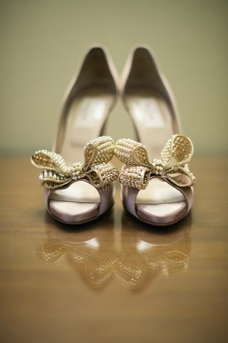 valentino-bow-heels-with-pearls-for-wedding-day