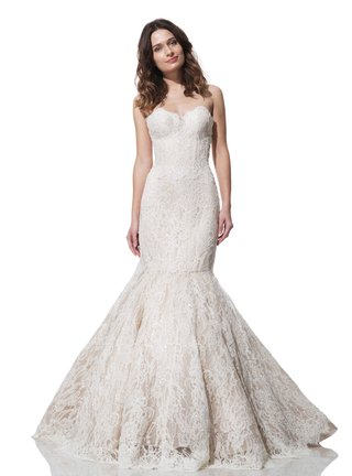olia-zavozina-fall-winter-2016-strapless-mermaid-lace-wedding-dress