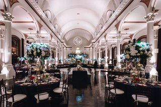 vibiana-wedding-with-black-and-white-decor-with-pops-of-jewel-tones
