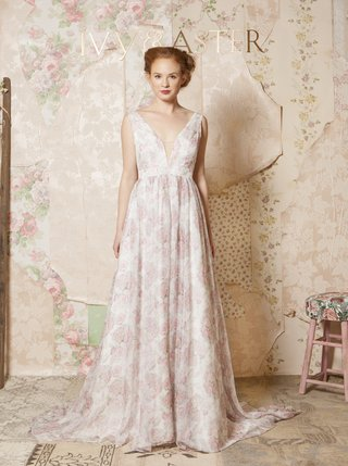 ivy-aster-sleeveless-wedding-dress-with-rose-print-by-kristy-rice