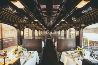 wedding-reception-on-napa-valley-wine-train-intimate-wedding-reception-on-train-car