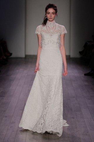 alvina-valenta-2016-turtle-neck-cap-sleeve-wedding-dress-with-fringe-on-bodice-an-skirt