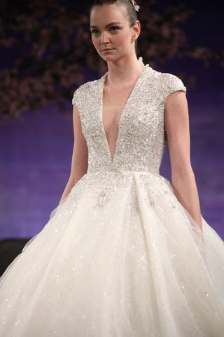 ines-di-santo-fontanne-wedding-dress-with-cap-sleeves-plunging-neckline-and-silver-beading