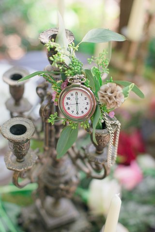 pocket-watch-foliage-detailing-gray-candelabra-candelabrum-celtic-wedding