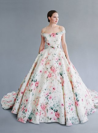 jaclyn-jordan-nyc-alicia-off-the-shoulder-flower-print-ball-gown-with-pink-and-green-pattern