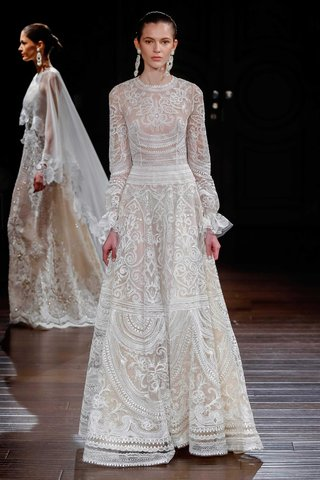 naeem-khan-bridal-spring-2017-new-mexico-long-sleeve-a-line-wedding-dress-with-embroidery-ivory