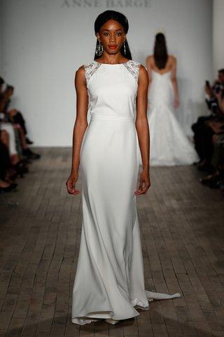 anne-barge-fall-2019-wedding-dress-pelli-high-neck-boat-neck-crepe-gown-applique-shoulder
