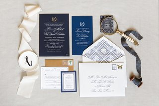 invitation-suite-with-gold-envelopes-navy-inserts-diy-invitations