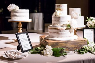 wedding-reception-cakes-one-tier-one-semi-naked-three-tier-and-one-square-tier-two-layer