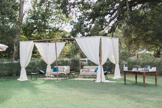 wooden-structure-over-lounge-area-california-winter-wedding-styled-shoot-brookview-ranch-rustic