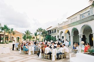 tropical-wedding-buffet-style-dinner