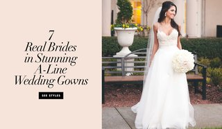 7-real-brides-in-stunning-a-line-wedding-dresses-bridal-gowns-wedding-dress-silhouette-inspiration