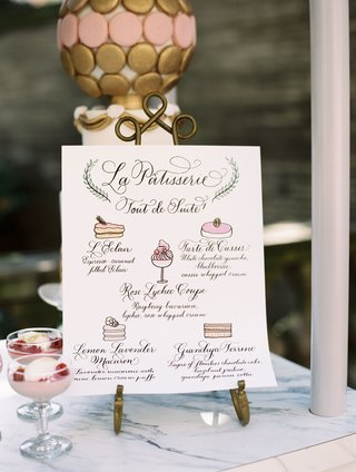 wedding-dessert-menu-on-pastry-cart-with-five-dessert-choices-illustration-paintings
