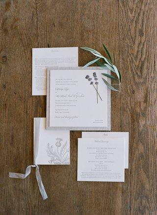 catriona-mcginn-and-mark-paul-gosselaar-wedding-invitation-neutral-lavender-tan-square