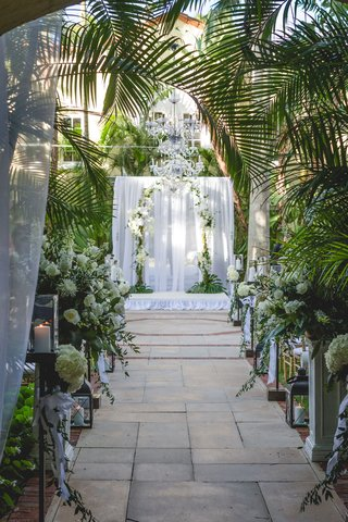 palm-beach-florida-wedding-ceremony-outdoor-for-real-housewives-of-new-york-city-luann-de-lesseps
