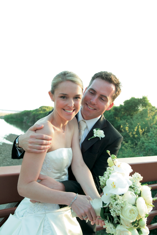 woman-in-wedding-dress-and-man-in-tuxedo