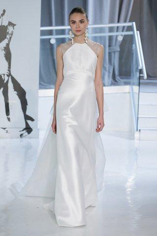 laurence-by-peter-langner-spring-2018-a-line-gown-silk-shantung-mikado-halter-neckline-organza-train