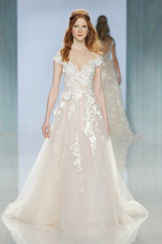 gala-galia-lahav-spring-2018-rosy-a-line-gown-off-the-shoulder-sleeves-floral-appliques-tulle-skirt