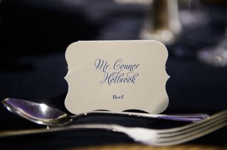 wedding-reception-place-setting-place-card-die-cut-card-with-menu-selection-and-calligraphy