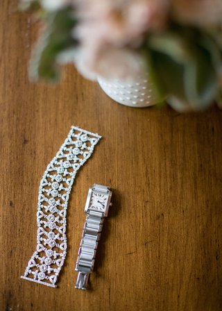 womens-watch-for-bride-and-diamond-bracelet