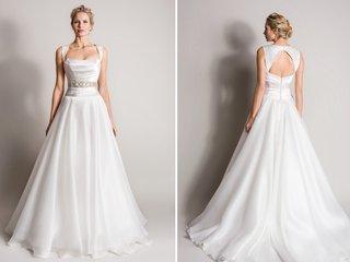 queen-anne-neckline-wedding-dress-with-keyhole-back