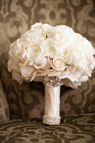 white-and-blush-bouquet-with-crystals-wrapped-with-satin-ribbon