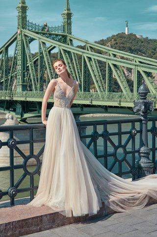 gala-by-galia-lahav-2016-ivory-wedding-dress-with-deep-v-neck-beaded-bodice