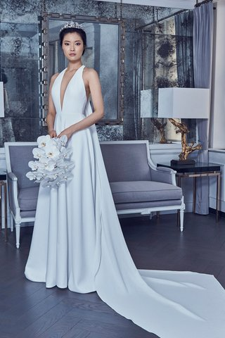 style-rk9402by-romona-keveza-spring-2019-stretch-silk-crepe-gown-plunging-neckline-halter-a-line